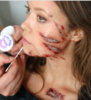Online Beginners Theatrical and Special FX Make-up Course