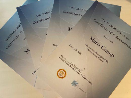 Hard Copy Certificate