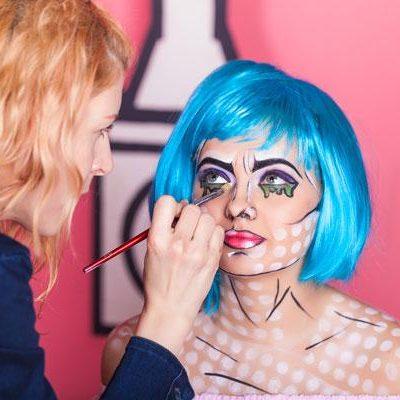 Online Pop Art Make-up Course
