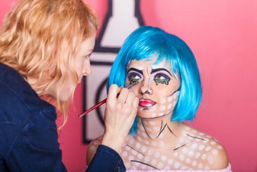 Online Pop Art Make-up Course