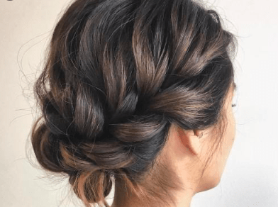 Online Hair Up and Prom Hair Course